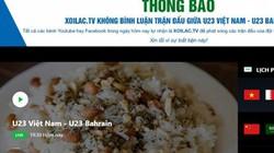 Bộ TTTT đề nghị truy đầu mối tiếp tay cho Xôi Lạc TV vi phạm bản quyền