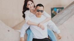 Ngọc Trinh và ông bầu Vũ Khắc Tiệp tình tứ chụp ảnh đôi ở Hàn Quốc