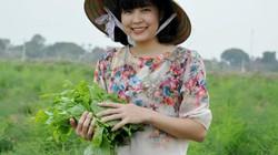 """Làm giàu ở nông thôn: Bỏ lương nghìn đô về trồng rau """"hoàng đế"""""""