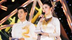 Á hậu Huyền My xinh đẹp trong lần đầu làm MC cùng Nguyên Khang