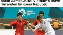 Truyền thông quốc tế: Olympic Việt Nam có thể tự hào về mình!