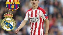 CHUYỂN NHƯỢNG (31.8): Barcelona và Real giành mua sao Mexico