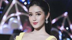 Á hậu Huyền My mặc đầm vàng đẹp lộng lẫy khi làm MC đêm thời trang