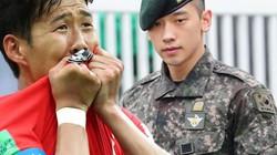 """""""Ronaldo Hàn Quốc"""" kiếm 2,5 tỷ/tuần lo nhập ngũ: Nhiều sao nam vướng """"cửa quan"""""""