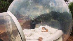 Độc đáo khách sạn bong bóng ở Bali nơi du khách có thể tắm lộ thiên