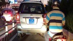 """Xe biển xanh """"chạy láo"""" trên cao tốc TP.HCM - Long Thành - Dầu Giây"""