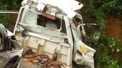 Xe tải lao xuống vực tại đèo Thung Khe, 2 người tử vong