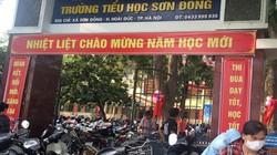 Huyện Hoài Đức đưa ra 3 yêu cầu với trường Sơn Đồng bị tố lạm thu