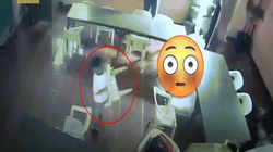 Chết cười với cậu bé ngủ gật trong lớp, tỉnh dậy đeo... ghế ra về