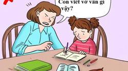 Kèm con làm bài tập về nhà, nhiều bố mẹ Việt dường như đang mắc sai lầm