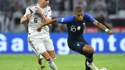 """Clip: Chơi ép sân, ĐT Đức vẫn bị Pháp """"cưa điểm"""""""