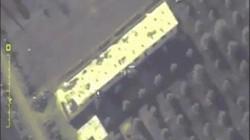 Video chiến đấu cơ Nga dội bom khủng bố ở thành trì cuối cùng