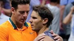 Mỹ mở rộng 2018: Nadal bỏ cuộc, Del Potro đánh chung kết với Djokovic