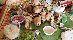 Hội mừng cơm mới của người Thái trắng ngày trùng cửu ở Ngọc Chiến