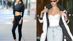 Bella Hadid sở hữu vóc dáng đẹp hơn sau khi tăng cân