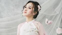 BTV Hoài Anh mặc áo dài đẹp mong manh như mỹ nhân phim cổ trang