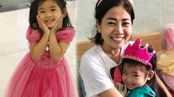 Nụ cười hạnh phúc của con gái Mai Phương sau ngày mẹ xuất viện