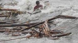 """Những hình ảnh không thể sợ hơn khi """"quái vật"""" Mangkhut càn quét Philippines"""
