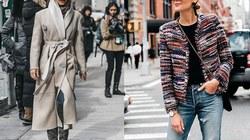 5 kiểu áo khoác thời thượng nhất cho mùa đông 2019