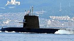 """Nhật Bản """"nắn gân"""" TQ bằng tập trận tàu ngầm ở Biển Đông"""