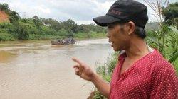 Lâm Đồng: Tàu cát vừa hoạt động lại, sông Đồng Nai lập tức sạt lở