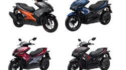 Yamaha NVX lột xác với loạt màu mới, quyết đấu Honda Air Blade