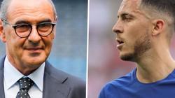 """HLV Sarri TIẾT LỘ lý do Hazard và 3 ngôi sao """"ở nhà"""""""