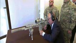 Ông Putin trổ tài thiện xạ khi thử mẫu súng trường mới của Nga