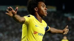 """Clip: Willian """"nổ súng"""", Chelsea thắng tối thiểu trước PAOK"""