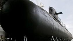 """Cận cảnh Nga hạ thủy tàu ngầm tàng hình 2.700 tấn """"vượt trội hơn cả"""""""