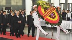Ảnh: Lãnh đạo Đảng, Nhà nước viếng Chủ tịch nước Trần Đại Quang