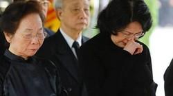 Quyền Chủ tịch nước Đặng Thị Ngọc Thịnh: Không thể tin Anh đã ra đi