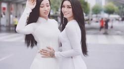 Mặc áo dài trắng yểu điệu, 2 anh chàng BB Trần và Hải Triều khiến chị em phát ghen