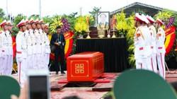 Chủ tịch nước Trần Đại Quang đã về an nghỉ tại quê nhà