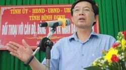 """Chủ tịch Bình Định: """"Lãnh đạo không xứng đáng với dân nên tự nghỉ"""""""