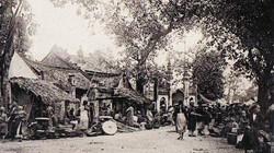 Ảnh độc về các khu chợ ở miền Bắc một thế kỷ trước