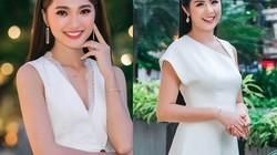 """""""Bạn gái tin đồn"""" của Văn Đức U23 Việt Nam rạng ngời bên Ngọc Hân"""