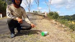 Phát hiện thêm một đoạn QL 24 bị phun thuốc diệt cỏ
