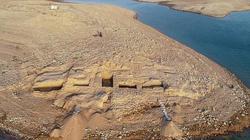 Cung điện 3.400 năm tuổi của đế chế cổ xưa bất ngờ lộ diện ở hồ nước Iraq