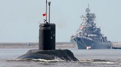 Tàu ngầm Nga vô tư băng qua cuộc tập trận của NATO ở Biển Na Uy