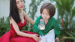 Elly Trần dạy con trai nói tiếng Việt cực hài hước