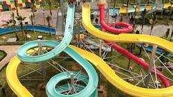 Ảnh: Công viên nước Thanh Hà mở cửa trở lại sau nửa tháng nâng cấp