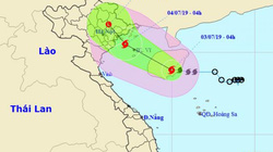 Bão số 2 tăng tốc hướng vào Quảng Ninh-Hải Phòng, bán kính ảnh hưởng 100km