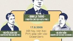 """86 triệu USD của PVN """"mắc kẹt"""" tại """"ngân hàng 0 đồng"""" OceanBank"""