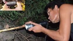 Nhanh tay, tinh mắt cầm đèn đi vạch đá săn cua đặc sản ở đảo An Bình