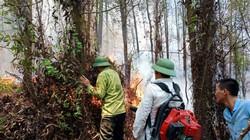 Hà Tĩnh: Đang cháy lớn tại núi Nầm