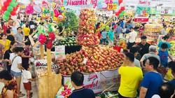 """500 tấn thanh long Bình Thuận đang """"đổ bộ"""" vào Thủ đô"""