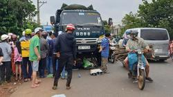 Xe tải tông từ phía sau, người phụ nữ buôn ve chai tử vong