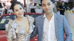 Gái 2 con Khánh Thi khoe vòng 1 gợi cảm bên chồng trẻ kém 12 tuổi