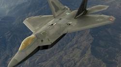 """""""Bay cùng"""" tiêm kích tàng hình F-22 Raptor của không quân Mỹ"""